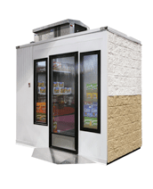 ICS by Everidge is the nation's leading provider of commercial one-piece walk-in freezers and coolers designed for both outdoor use and indoor use.